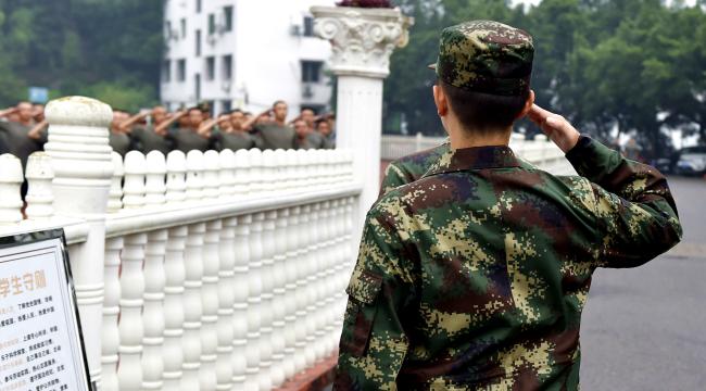 重慶:新兵起運 奔赴遠方