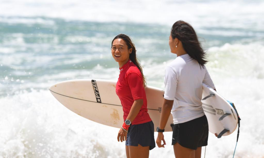 衝浪——女子短板賽況