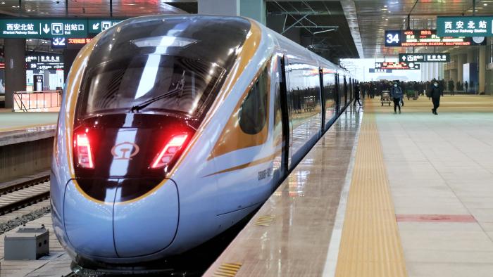 銀西高鐵今日開通運營 銀川至西安3小時4分可達