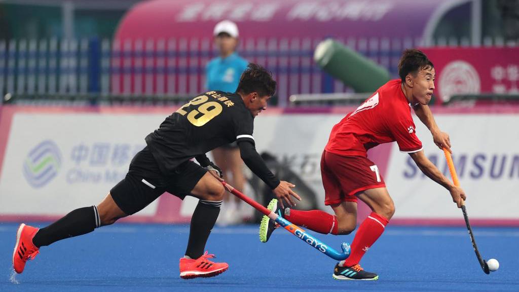 曲棍球——男子小組賽:內蒙古勝遼寧