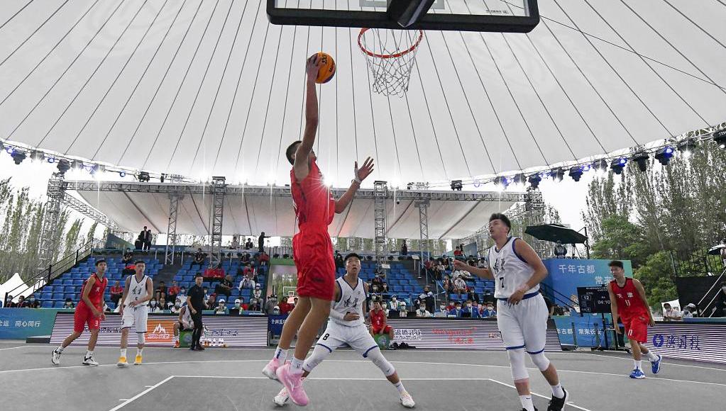 三人籃球——男子19歲以下組循環賽:遼寧隊勝天津隊