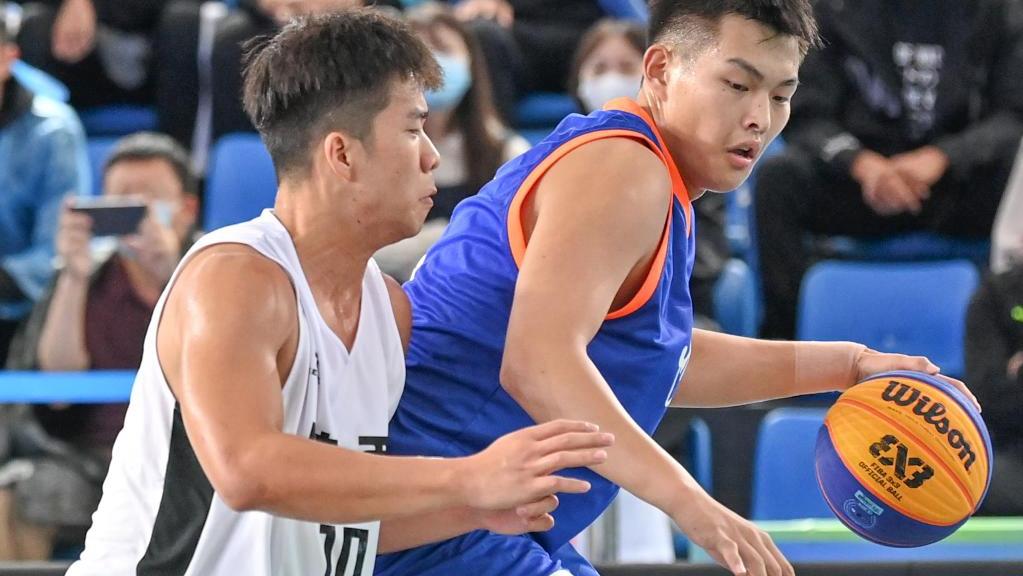 三人籃球——男子19歲以下組:遼寧隊勝陜西隊