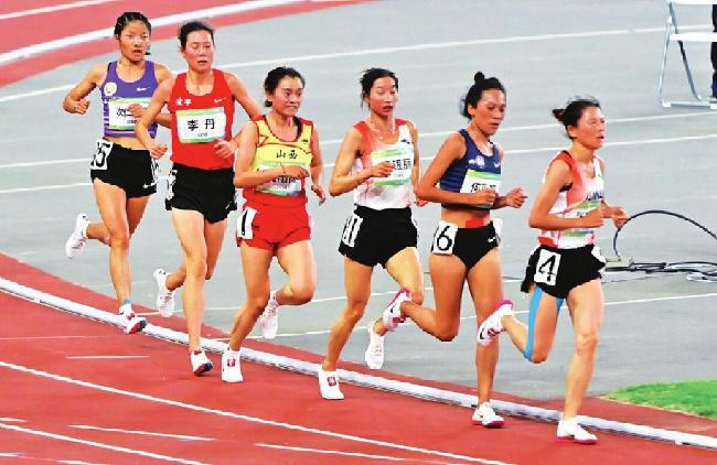 關注第十四屆全運會丨女子10000米山西選手奪銀