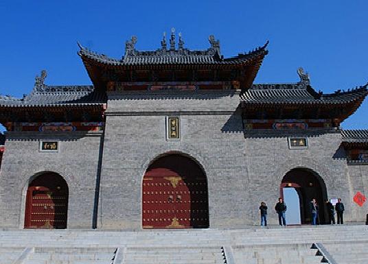 山西農民畫展在中華傅山園展出